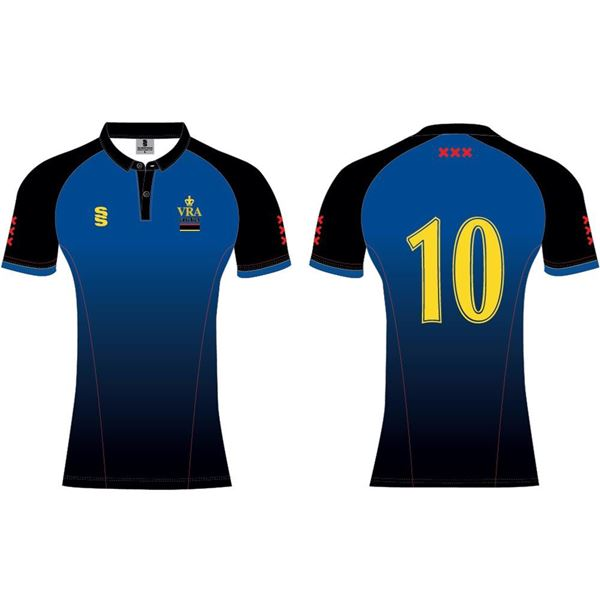 Picture of VRA Amsterdam CC Sublimated ladies short sleeve playing shirt