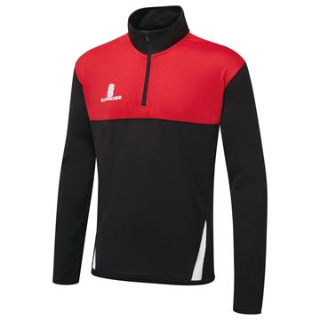 Afbeeldingen van Blade Performance Top : Black / Red / White