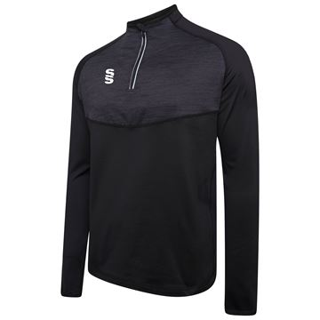 Imagen de 1/4 Zip Dual Performance Top - Black