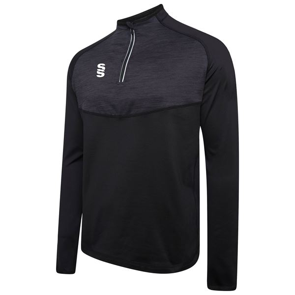 Picture of 1/4 Zip Dual Performance Top - Black