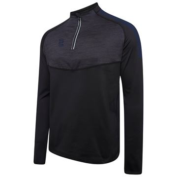 Imagen de 1/4 Zip Dual Performance Top - Black/Navy