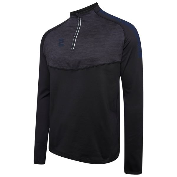 Bild von 1/4 Zip Dual Performance Top - Black/Navy