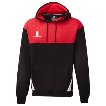 Image de Blade Hoody : Black / Red / White