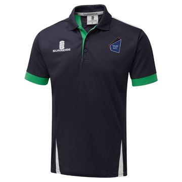 Picture of The Link Academy Dudley Blade Polo Navy/Emerald/White