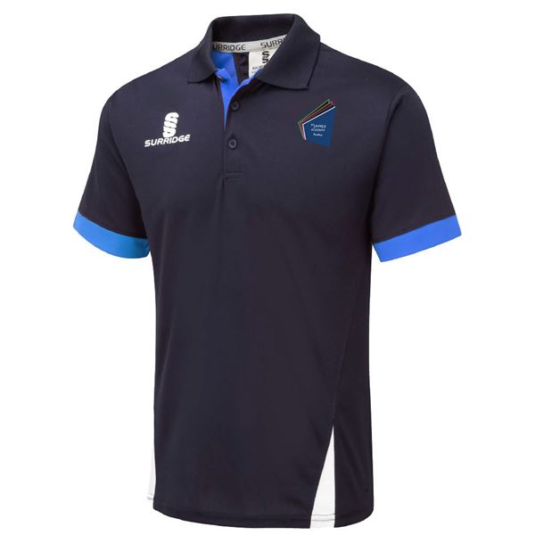 Picture of St James Academy Dudley  Blade Polo Navy/Royal/White