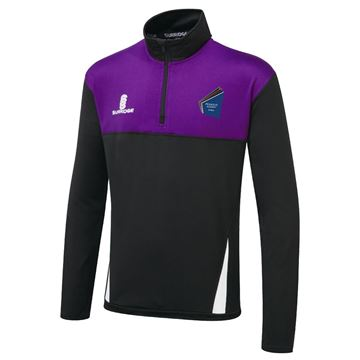 Afbeeldingen van Pegasus Academy Dudley  Blade Performance Top Black/Purple/White