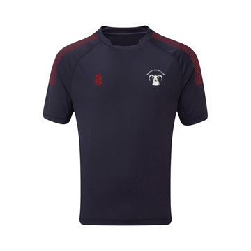Picture of Shepley Cricket Club Dual Games Shirt - Navy / Maroon
