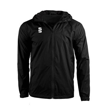 Afbeeldingen van DUAL FULL ZIP TRAINING JACKET - BLACK