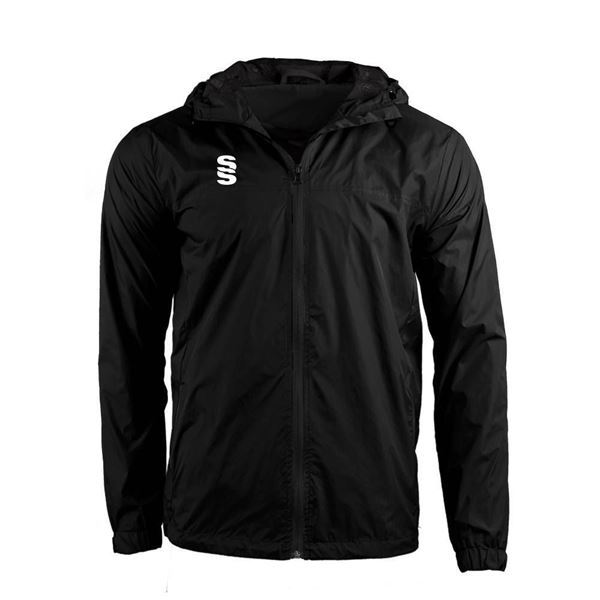 Afbeelding van DUAL FULL ZIP TRAINING JACKET - BLACK