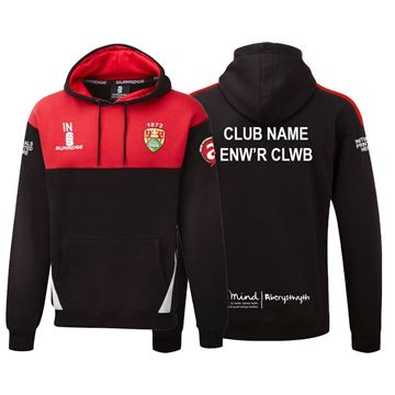 Picture of Aberystwyth University Blade Hoody Black/Red/White