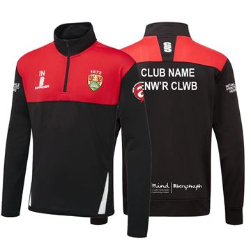 Picture of Aberystwyth University Blade Performance Top Black/Red/White