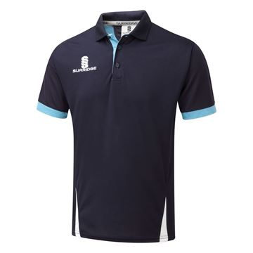 Image de Blade Polo Shirt : Navy / Sky / White