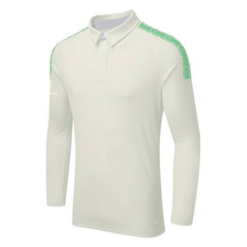 Bild von DUAL LONG SLEEVE CRICKET SHIRT - Emerald