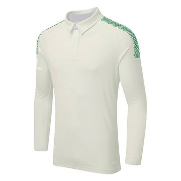 Bild von DUAL LONG SLEEVE CRICKET SHIRT - Forest