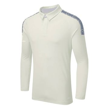 Afbeeldingen van DUAL LONG SLEEVE CRICKET SHIRT - Navy