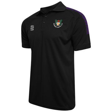 Image de Didsbury Grey Hockey Club Black Dual Polo Shirt
