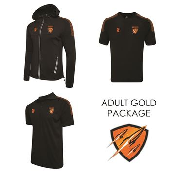 Picture of CRAMLINGTON ROCKETS RLFC SURRIDGE ADULT GOLD PACKAGE