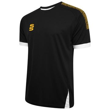 Bild von Blade / Dual Training Shirt : Black / Amber / White