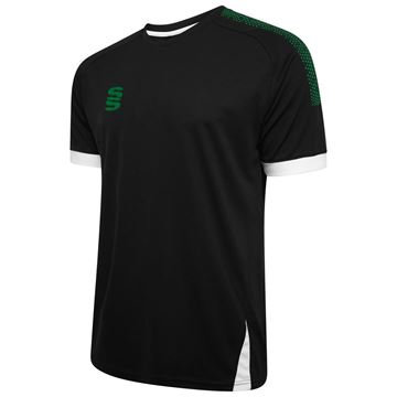 Picture of Blade / Dual Training Shirt : Black / Bottle / White