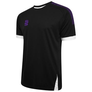 Picture of Blade / Dual Training Shirt : Black / Purple / White