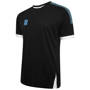 Picture of Blade / Dual Training Shirt : Black / Sky / White