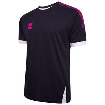 Picture of Blade / Dual Training Shirt : Navy / Pink / White