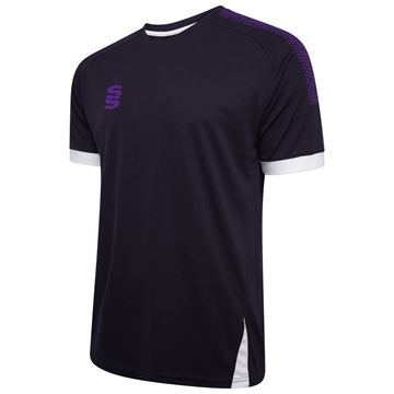 Picture of Blade / Dual Training Shirt : Navy / Purple / White