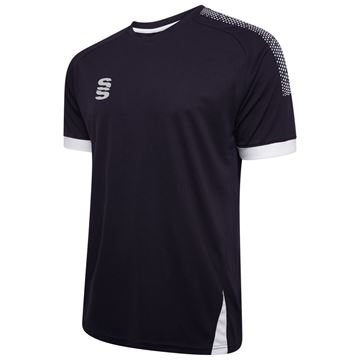 Picture of Blade / Dual Training Shirt : Navy / Silver / White