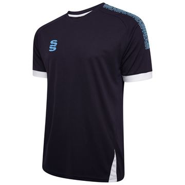 Picture of Fuse Training Shirt : Navy / Sky / White