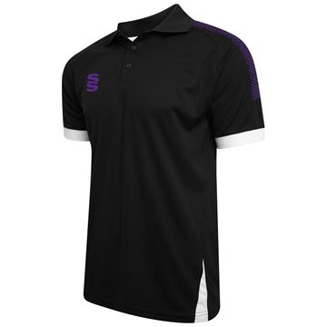Picture of Blade / Dual Polo Shirt : Black / Purple / White