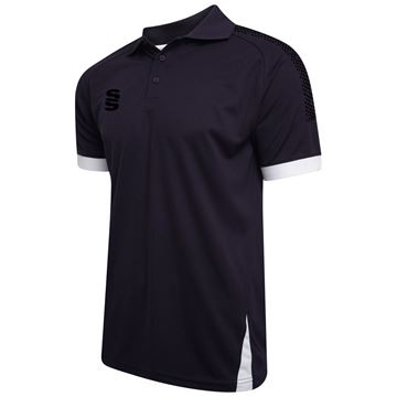 Picture of Blade / Dual Polo Shirt : Navy / Black / White
