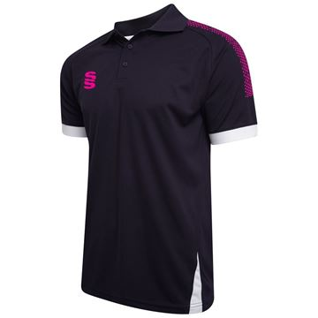 Picture of Blade / Dual Polo Shirt : Navy / Pink / White