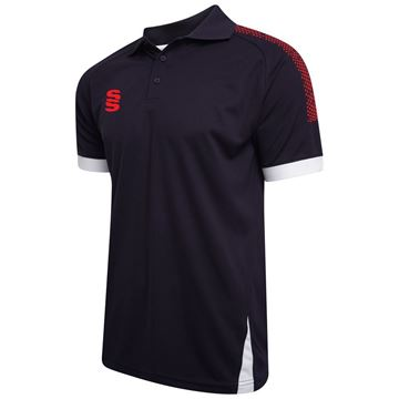 Picture of Blade / Dual Polo Shirt : Navy / Red / White