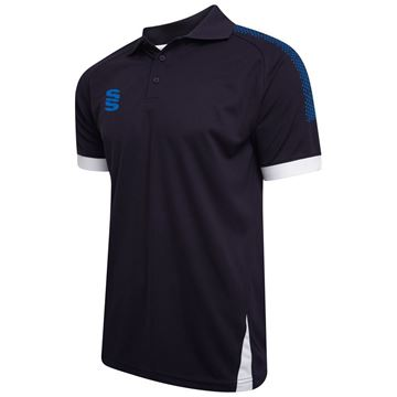 Picture of Blade / Dual Polo Shirt : Navy / Royal / White