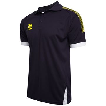 Picture of Blade / Dual Polo Shirt : Navy / Yellow / White