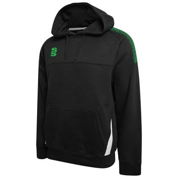 Picture of Fuse Hoody : Black / Emerald / White