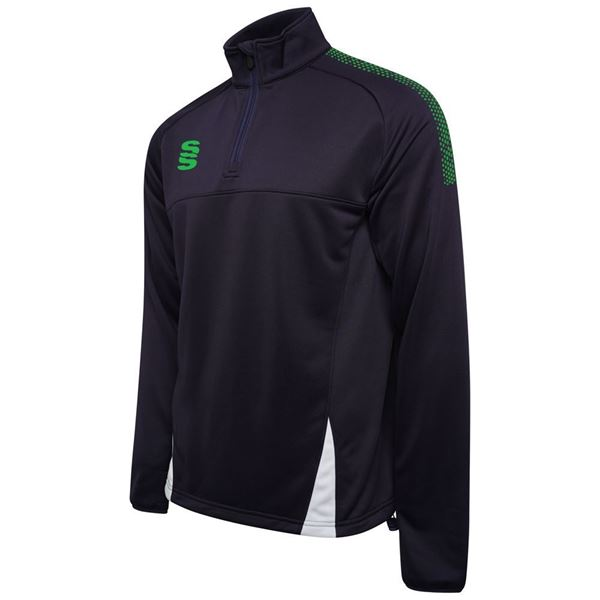 Image sur Blade / Dual Performance Top : Navy / Emerald / White
