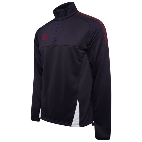 Image sur Blade / Dual Performance Top : Navy / Maroon / White