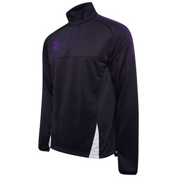 Bild von Blade / Dual Performance Top : Navy / Purple / White