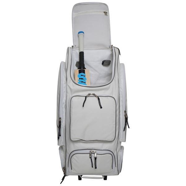 Image sur BLADE II DUFFLE/WHEELIE BAG White/Silver - LIMITED EDITION