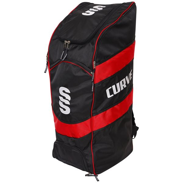 Picture of CURVE DUFFLE BAG BLACK/RED