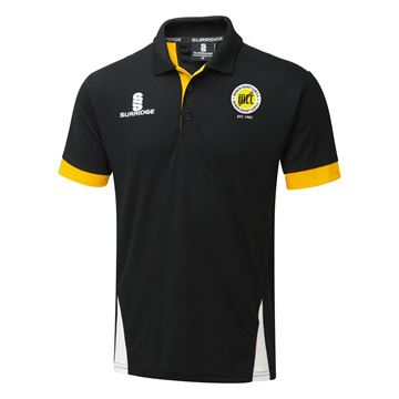 Picture of Munich Cricket Club Blade Polo Black/Amber/White