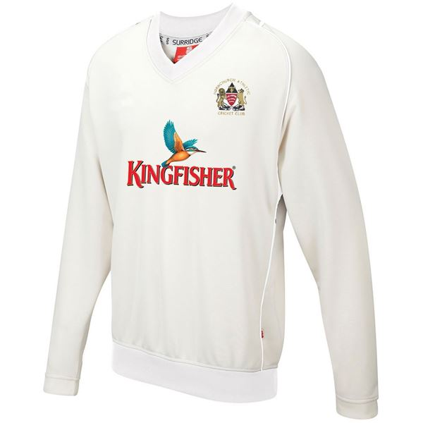Bild von Hornchurch Athletic CC Curve Long Sleeved Sweater
