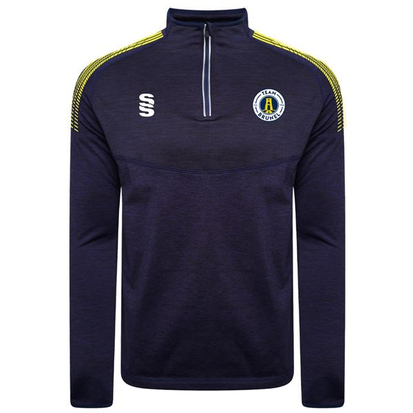 Picture of Brunel University  Dual Performance 1/4 Zip Top