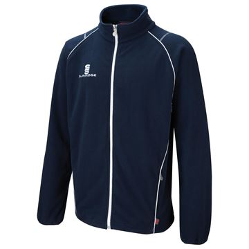Picture of Curve Fleece - Navy/White