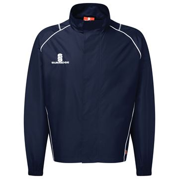 Picture of Curve Full Zip Rain Jacket - Navy