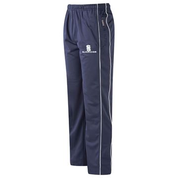 Afbeeldingen van Coloured Trousers - Navy/White