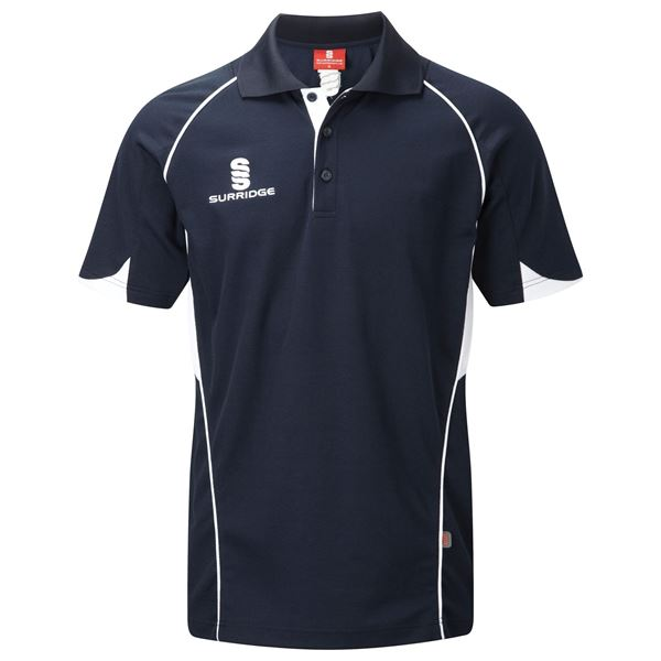 Picture of Curve Polo Shirt - Navy/White