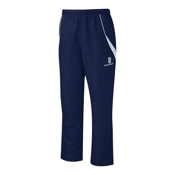 Picture of Curve Track Pant - Navy/White