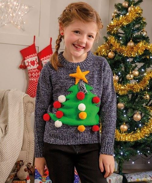 Picture of Kids 3D Christmas Jumper